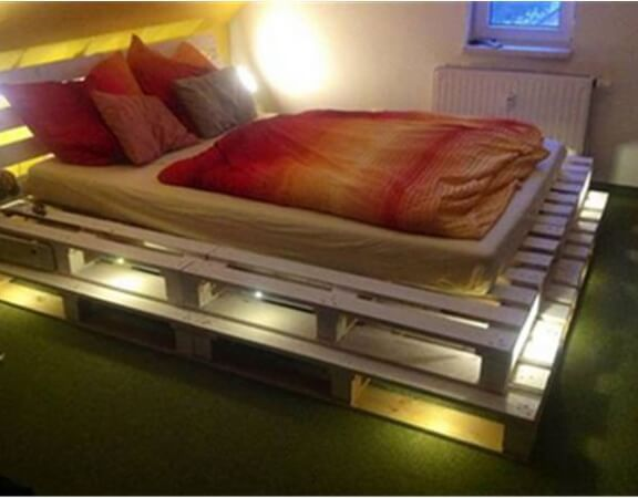 krost used second hand bed