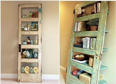 KrostUsed second hand racking wooden door shelves
