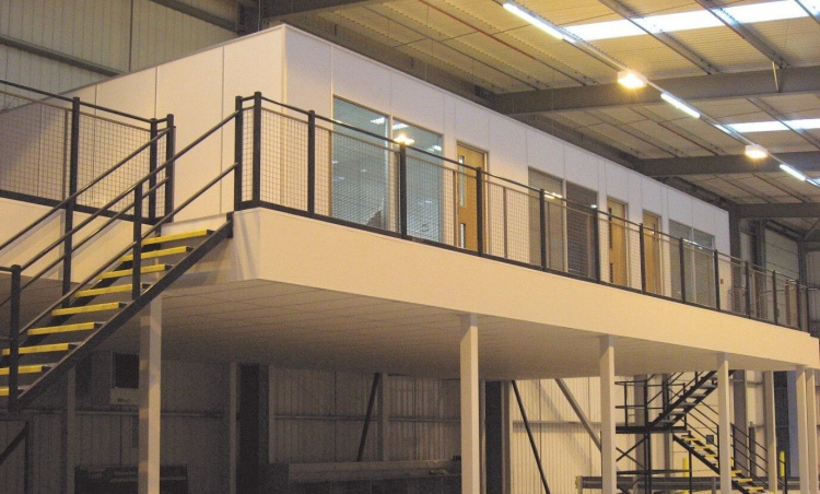 Maximizing space second hand mezzanine flooring use for How to build a mezzanine floor in your home
