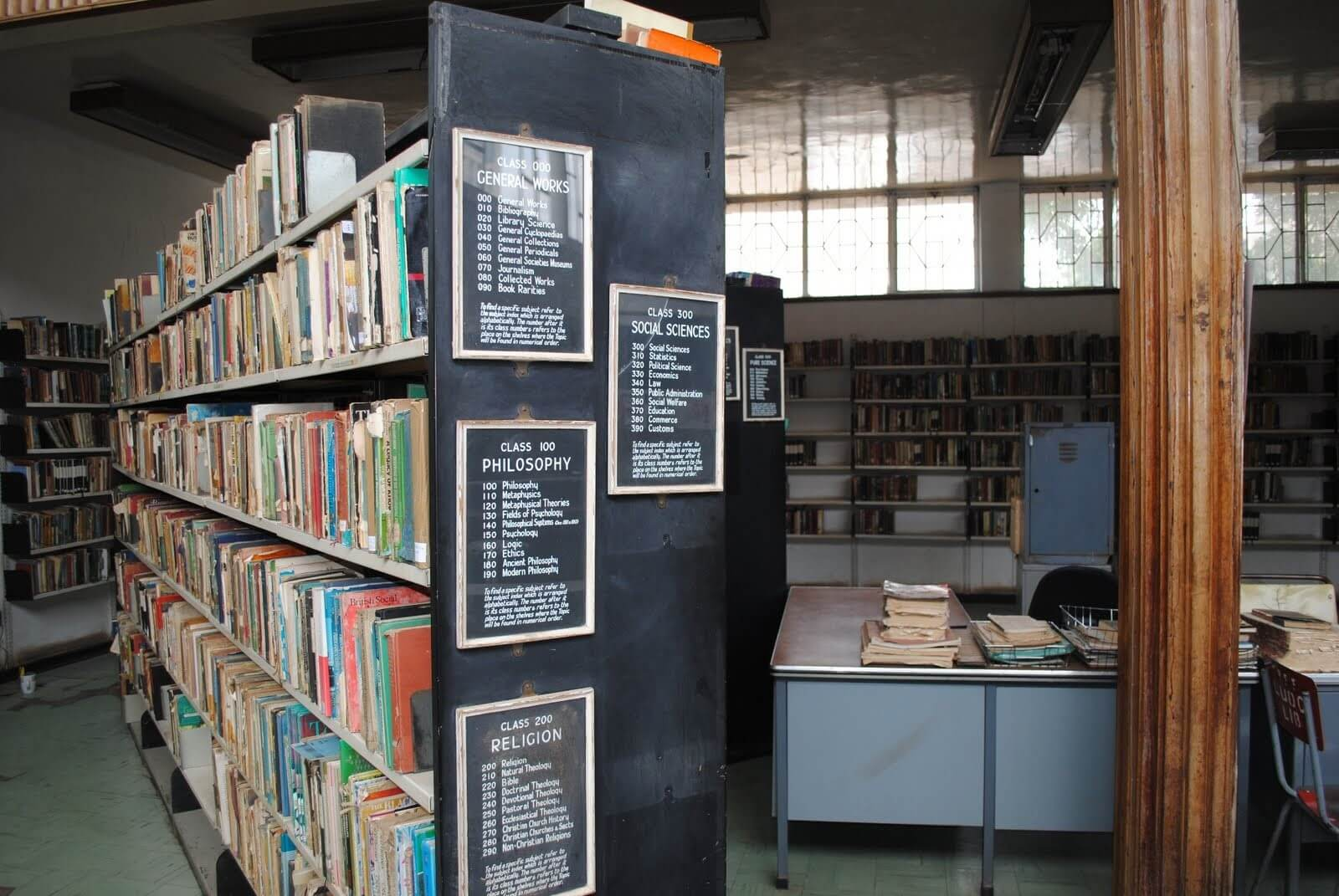 second hand shelving