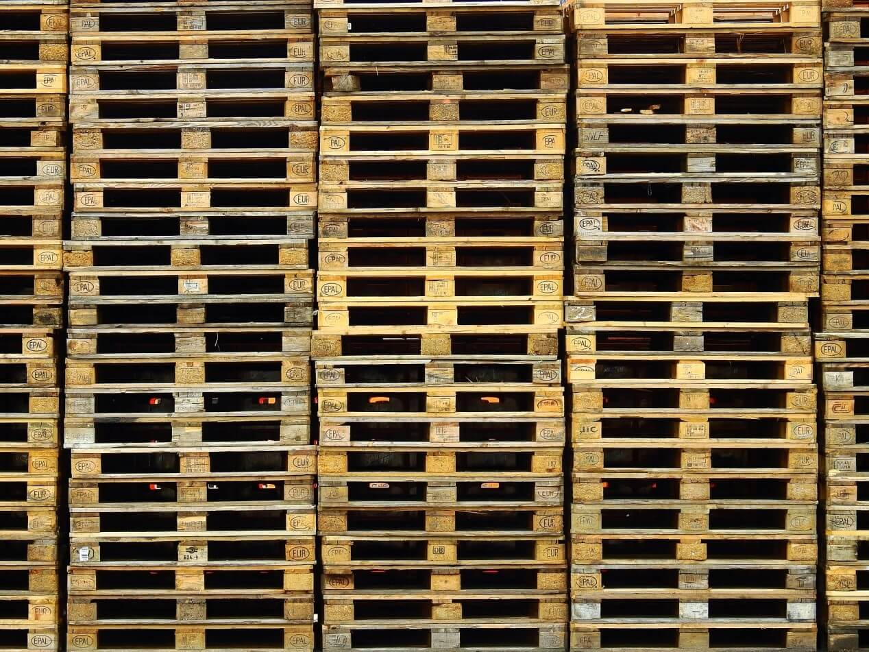 used pallet racking